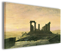 Quadro moderno Caspar David Friedrich vol IV stampa su tela canvas riproduzioni