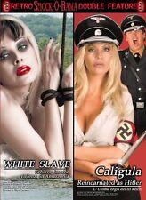 White Slave & Caligula Reincarnated As Hitler DVD Shock-O-Rama Cinema double