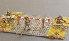 SGTS MESS HG04 1/72 Diecast WWII British Home Guard Manning Road Barrier