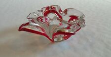 Vintage  glass ashtray  (B21)