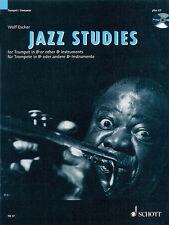 Jazz Studies Trumpet Bb B Flat Learn Improvisation Music Lessons Book CD NEW