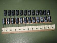 24x Elko SAMXON RC 100µF/100V 130°C 10x17mm 5000h HighRipple LongLife 100uF 105