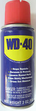 WD40 MULTI-USE SPRAY LUBRICANT Loosen Rusted Parts Tool Kit Size 3 oz Item 11010