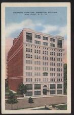 Postcard HIGH POINT North Carolina/NC  Southern Furniture Exposition Bldg 1920's