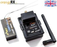 FrSky Combo 2.4GHz DJT D8R-II Plus for JR Turnigy 9x / 9XR Module & RX orangeRX