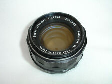 PENTAX Super - Takumar 50mm F 1.4 lens M42 screw mount. Sn3225800