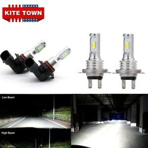 4X LED Headlights Bulbs For Mazda 3 2004 2005 2006 2007 2008 2009 Hi-Lo Beam