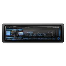 Alpine UTE-73BT Single DIN Mech-Less Bluetooth...