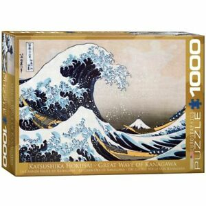 Eurographics 1000 Piece Jigsaw Puzzle - Great Wave of Kanagawa  EG60001545