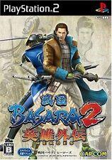Used PS2 Sengoku Basara 2 Heroes   Japan Import (Free Shipping)