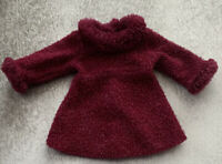 RETIRED AMERICAN GIRL 2001 Garnet Red Sparkle HOLIDAY DRESS only