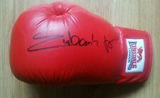 Chris Eubank Jnr, hand signed Lonsdale glove.