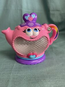 NICE Leapfrog Leap Frog Musical Rainbow Tea Party Replacement Pink Tea Pot