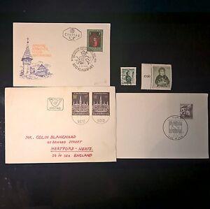 DUZIK: AUSTRIA Mixed Selected Covers and Stamps (NoL65)**