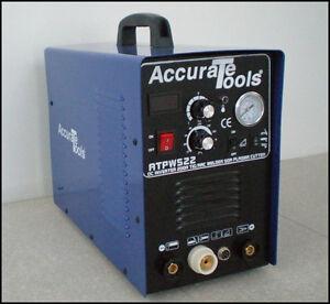 NEW 3in1 50A PLASMA CUTTER 200 AMP TIG STICK/ARC WELDER