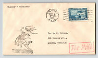 Canada 1939 First Flight Cover Calgary to Vancouver (Can-301ae) - Z12829