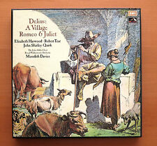 SLS 966 Delius A Village Romeo & Juliet Meredith Davies Harwood Tear 3xLP NM/EX