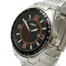 Limit Casual Stainless Steel Strap Wristwatches