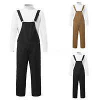 2020 Mode Hommes Salopette ample jumpsuit pantalon travail pantalon décontracté