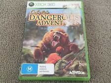 Cabela's Dangerous Adventures   Microsoft  Xbox 360   Complete   Aus Release