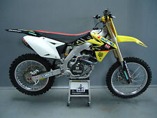 Suzuki RMZ450 2008-2017 Factory Yoshimura graphics kit,seat cover + plastics kit