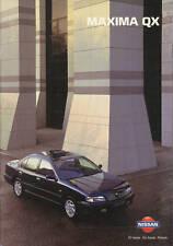 Nissan maxima QX folleto 10/96 brochure 1996 auto folleto auto folleto Japón