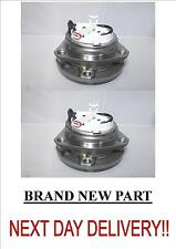VAUXHALL OPEL ASTRA H PAIR OF FRONT WHEEL HUBS 4 STUD ABS 1.3 1.7 CDTI 2004>on