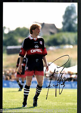 Stefan Effenberg Super Großfoto 20x30 cm Bayern München Orig.Sign.+14