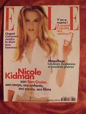 ▬► Elle 2774 de 1999 Nicole Kidman_Alber Elbaz pour YSL_M.Seigner _Mode Fashion