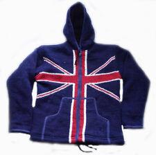 J112 M Fleece lined Hoodie Multi-color Woolen Men winter Jacket Jumper Nepal