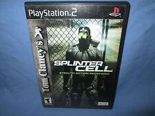 Tom Clancy's Splinter Cell (Sony PlayStation 2, 2003) Tested (NTSC/US/CA)