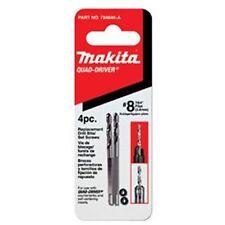 "MAKITA 784846-A Quad-Driver Countersink #8 7/64"" 2,8mm Replacement Drill Bits"