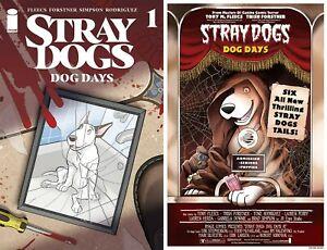 STRAY DOGS DOG DAYS #1 Main + Horror Movie Variant Image Comics NM 12/29 PreSale