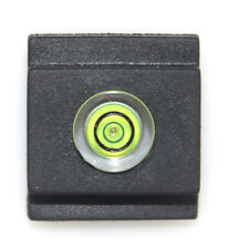 Universal DSLR Camera Bubble Spirit Level Flash HotShoe Safety Cover Dust Cap