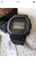 NWT Casio G-SHOCK DW5600BB-1 Digital All Black