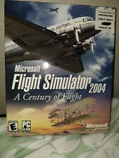 Microsoft Flight Simulator 2004: A Century of Flight - PC. Rare New Sealed