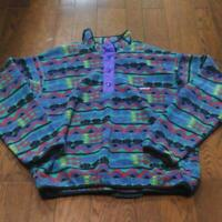 Patagonia Snap T Whole Pattern Valuable R Tag 90S Rare L Size