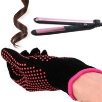 Salon Hair Straightener Curling Tong Hairdressing Heat Resistant Finger Gloves