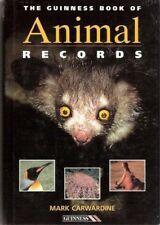 The Guinness Book of Animal Records,Mark Carwardine