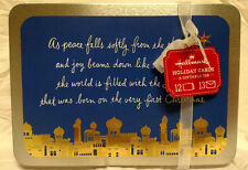 "Hallmark 12 Christmas Cards w/ Envelopes Giftable Tin ""Gods Love"" - New!"