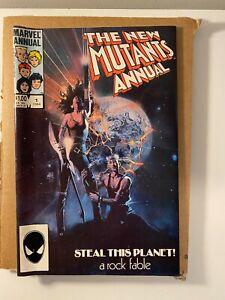 New Mutants Annual #1 Heavy Metal Parody Cover! 1st App. Lila Cheney!