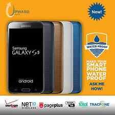 NEW Samsung Galaxy S5 (16GB, 32GB) Straight Talk Verizon Total Wireless Tracfone