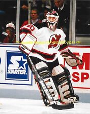 MARTIN BRODEUR Looks to Make PASS 8x10 Photo NEW JERSEY DEVILS GOALIE GREAT WOW