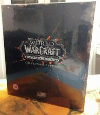 World of Warcraft Cataclysm Collectors Edition, New SEALED, Nuovo