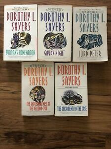 Dorothy L. Sayers - Lot of 5 PB - Lot Of 4 Lord Peter Wimsey & 1 Other