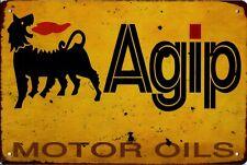 Blechschild Reklame Alfa Romeo Agip Michelin Metallschild 20x30 cm Deko tin sign