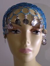 Belly Dancer Bead/Coin Head Band/Head Piece/Head Wear