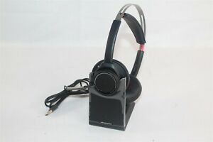 Plantronics Poly Voyager Focus UC B825-M Stereo Bluetooth Headset w/ Base