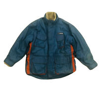 Ripcurl Vintage Men's Jacket Sherpa Fleece Removable Lining Size Large
