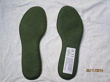 Einlegesohlen für Stiefel,grün,Gr. 11 = Länge 310mm  , für GB Combat Boots, 2003